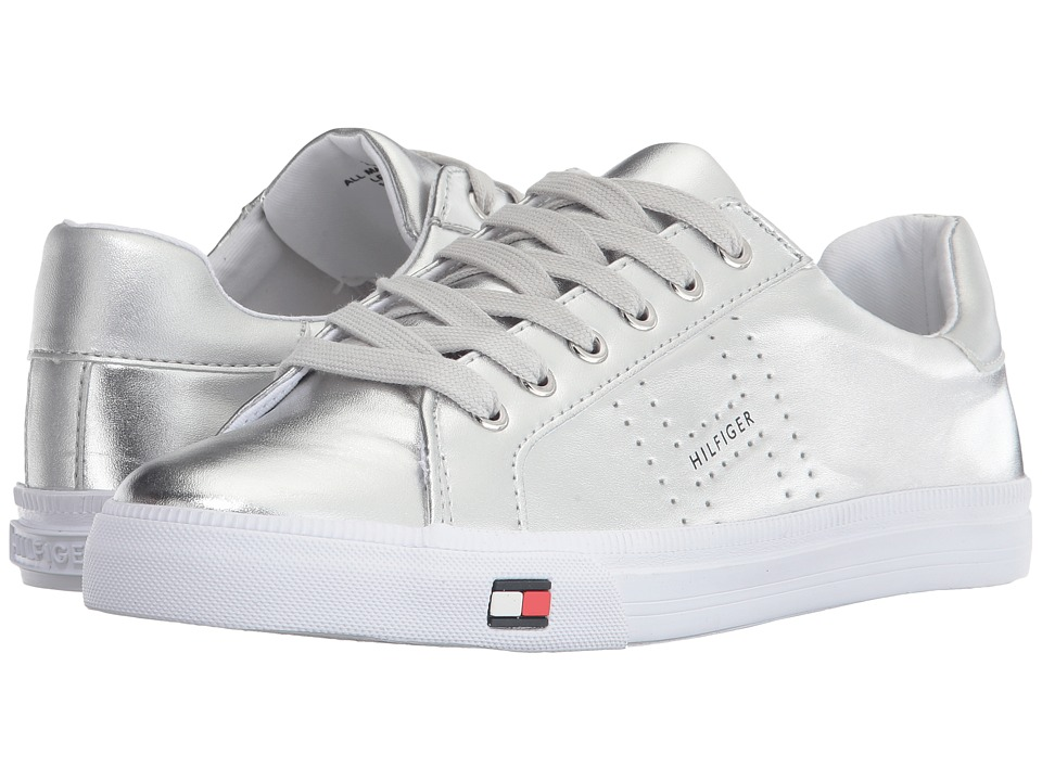 Tommy Hilfiger - Luster (Silver) Women's Shoes