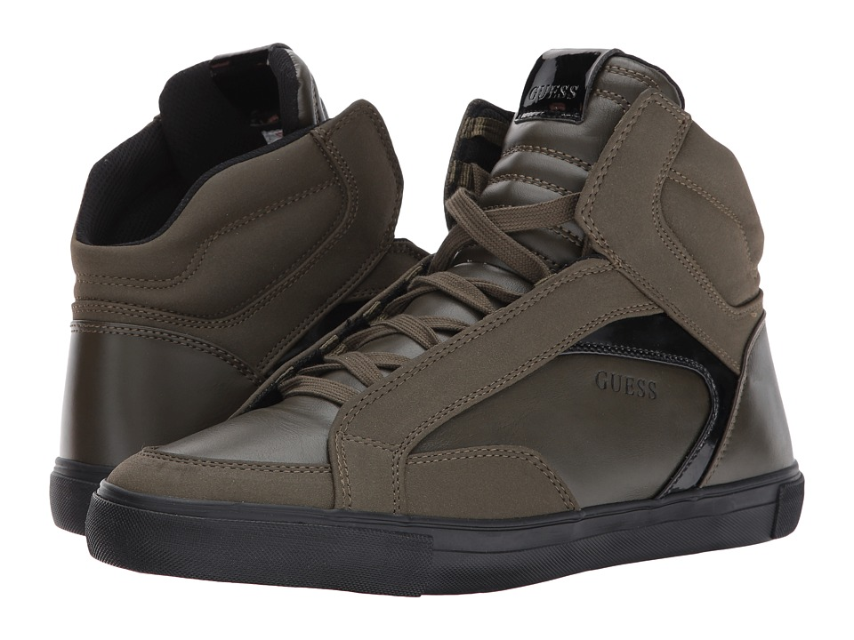 GUESS - Milo (Olive) Men's Shoes