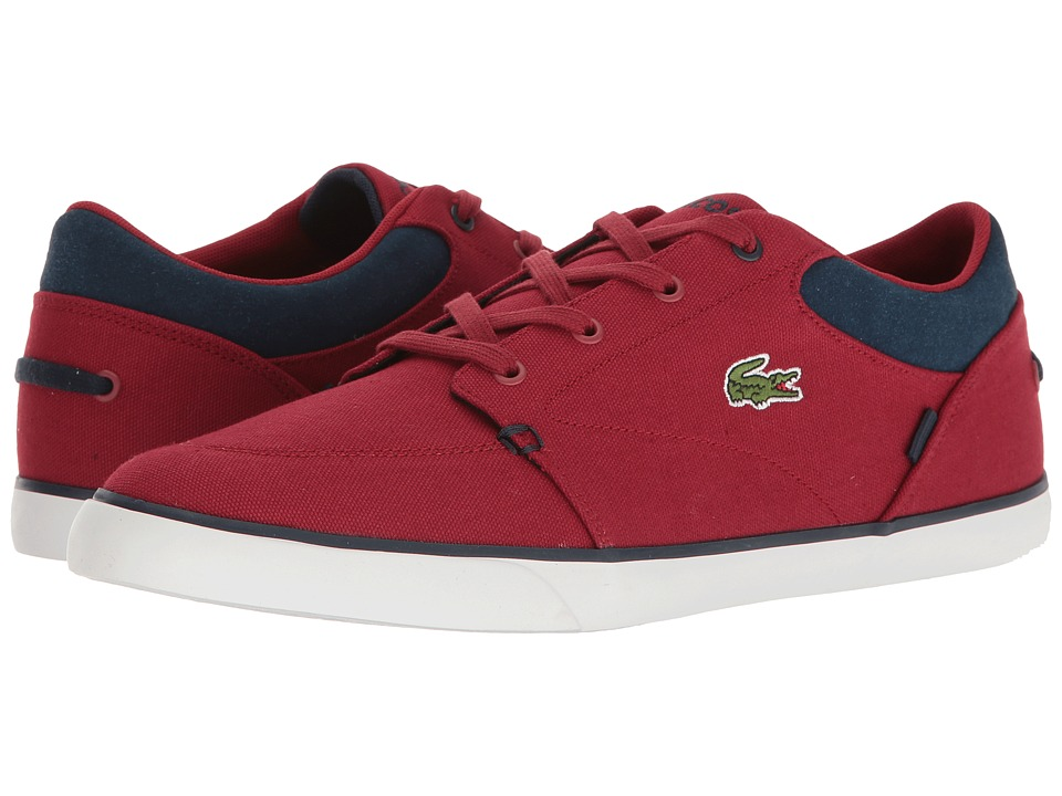 Lacoste - Bayliss G117 1 (Red) Men's Shoes