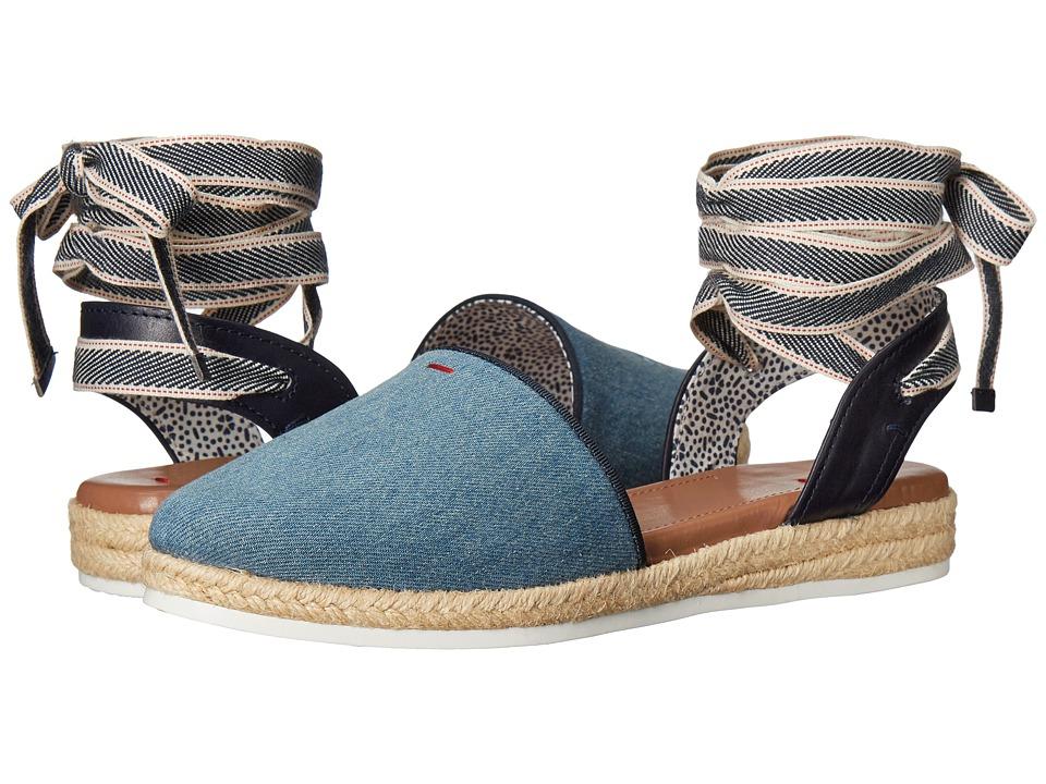 ED Ellen DeGeneres - Lourana (Light Blue Denim) Women's Lace up casual Shoes