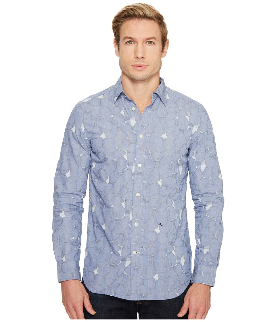 Diesel - S-Omni Shirt (Peacoat Blue) Men's Clothing
