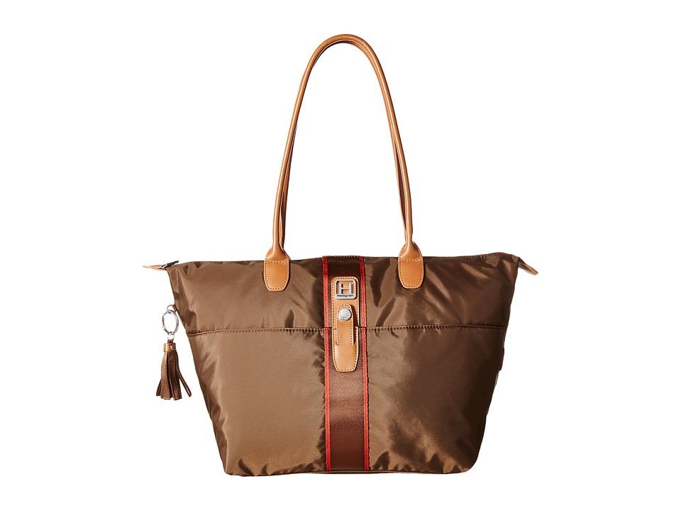 Hedgren - Casual Chic Meg Large (Seal Brown) Tote Handbags