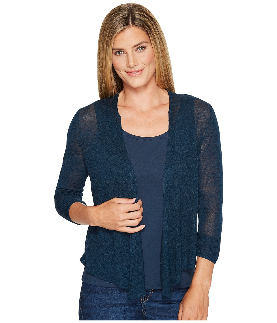 NIC+ZOE - Four-Way Cardy-Lighter Weight (Baltic) Women's Sweater