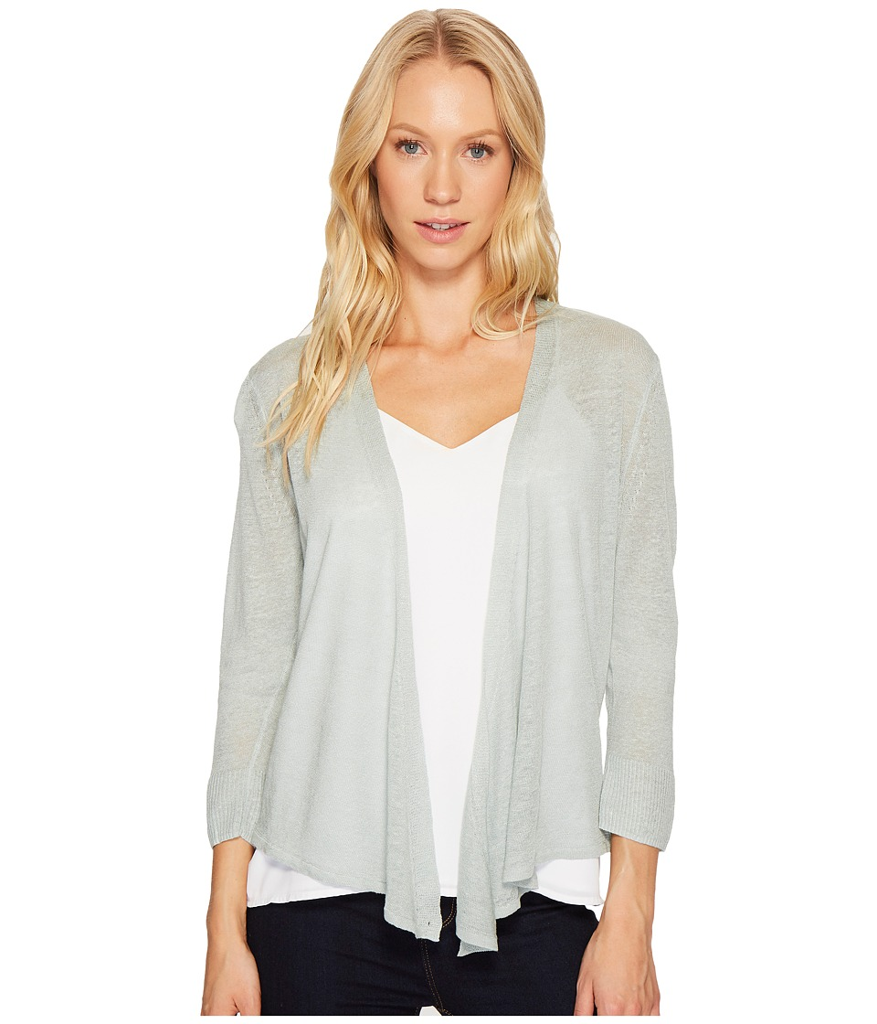 NIC+ZOE - Four-Way Cardy-Lighter Weight (Duck Egg) Women's Sweater