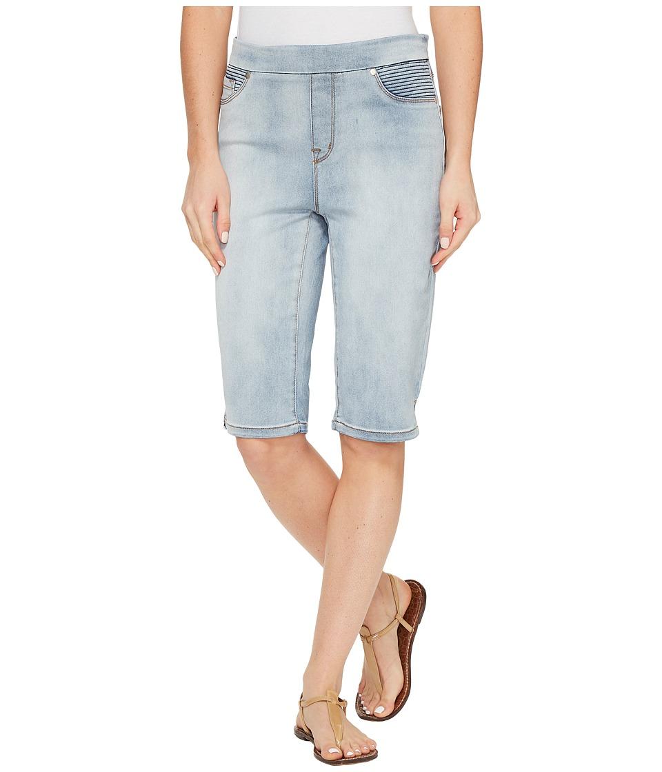 Tribal - Pull-On 13 Bermuda Dream Jeans in Bleach Wash (Bleach Wash) Women's Shorts