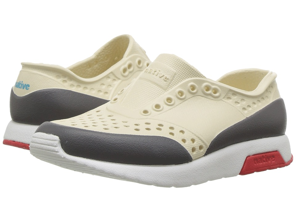 Native Kids Shoes Lennox Color Block (Toddler/Little Kid) (Bone White/