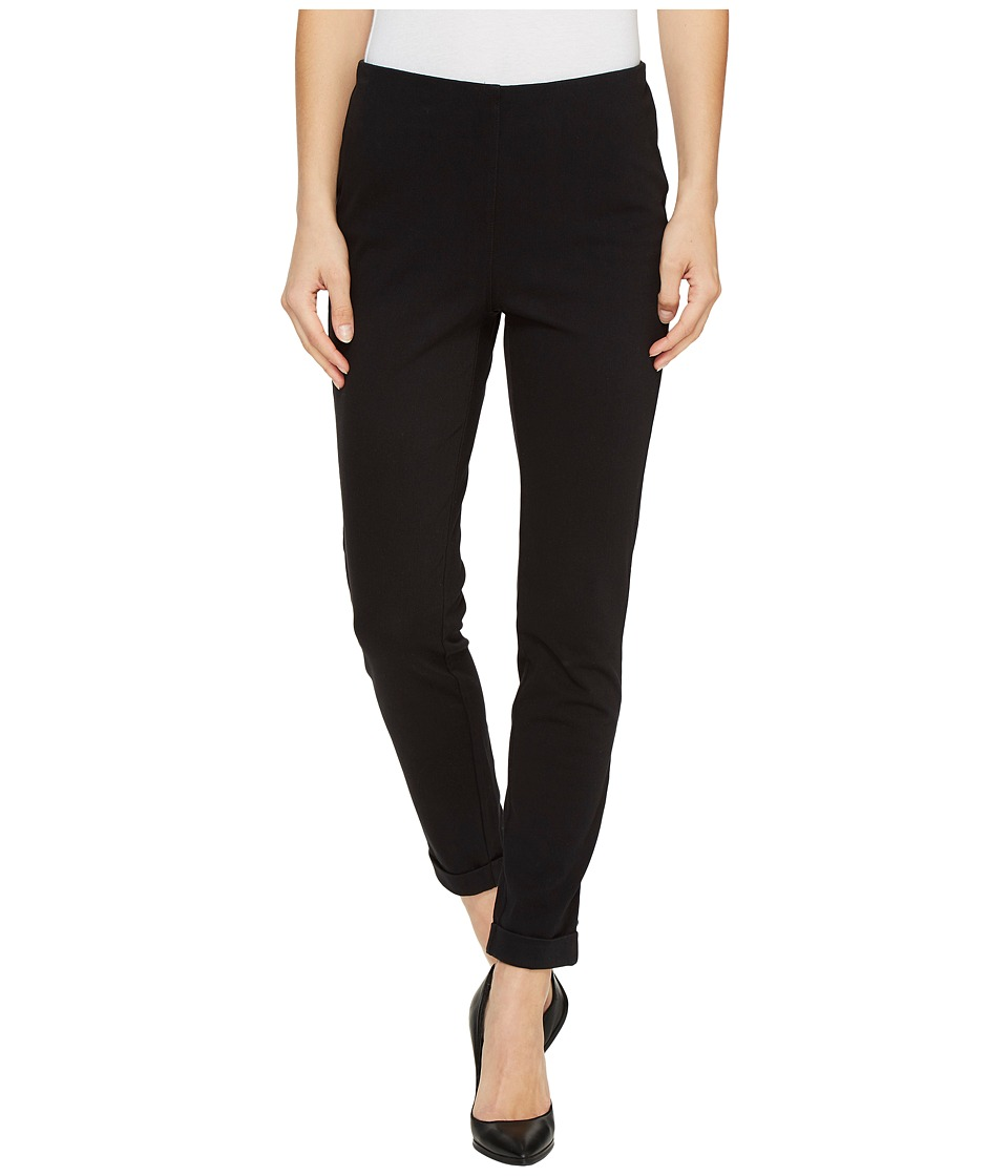 Tribal - Stretch Twill Knit 28 Flatten It Leggings (Black) Women's Casual Pants