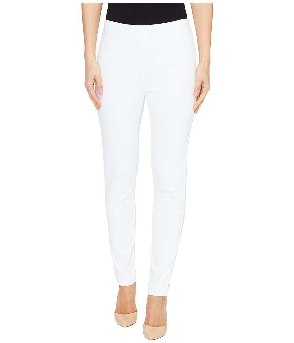 Tribal - Stretch Twill Knit 28 Flatten It Leggings (White) Women's Casual Pants