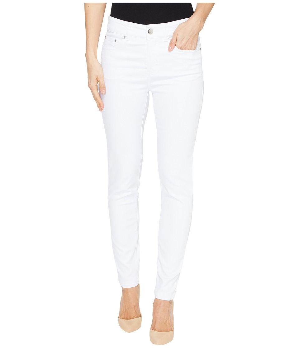 Tribal Super Stretch 28 Five-Pocket Pants (White) Women