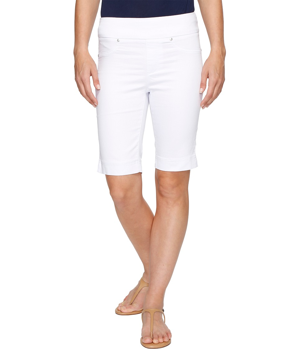 Tribal - Super Stretch 10 Pull-On Shorts (White) Women's Shorts