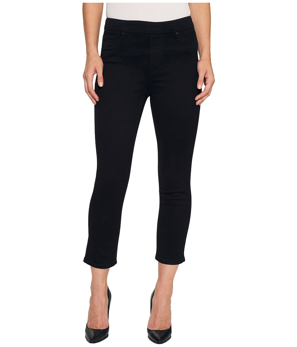 Tribal Pull-On 25 Dream Jeans Capris in Black (Black) Women