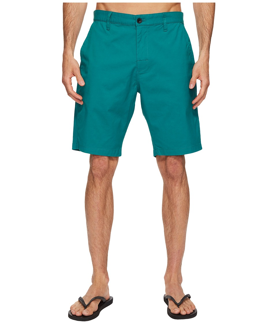 RVCA - Weekend Hybrid II (Teal) Men's Shorts