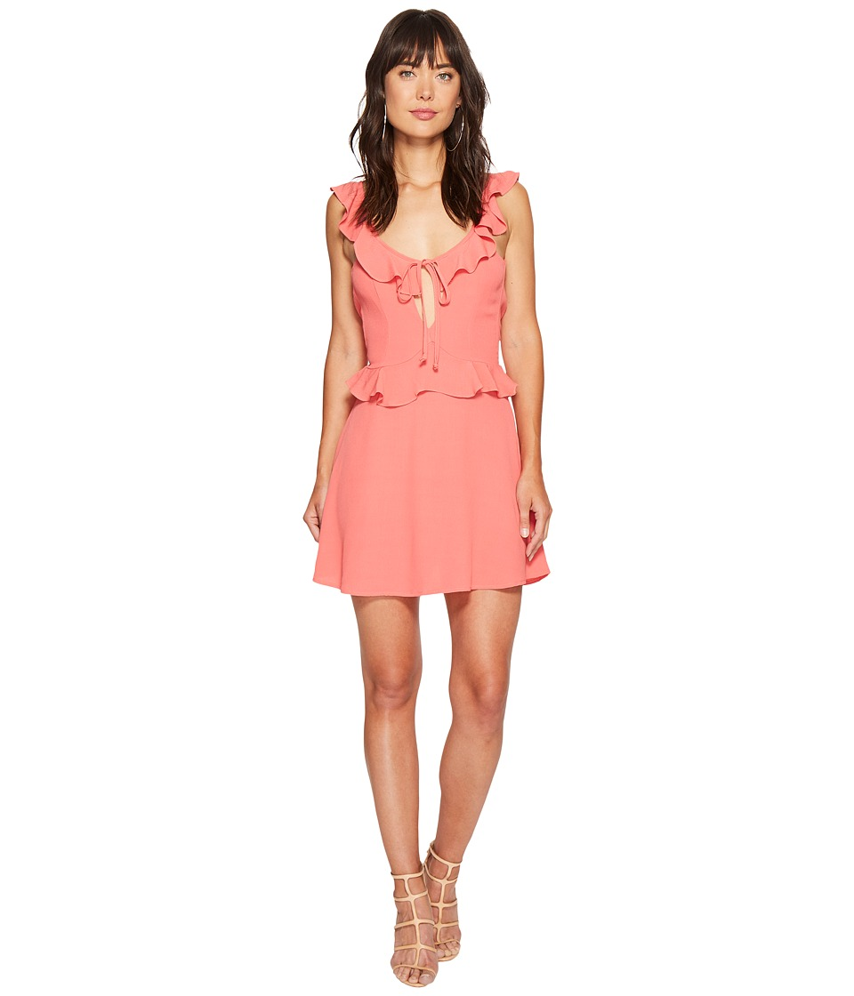 Flynn Skye - Mimi Dress (Coral) Women's Dress