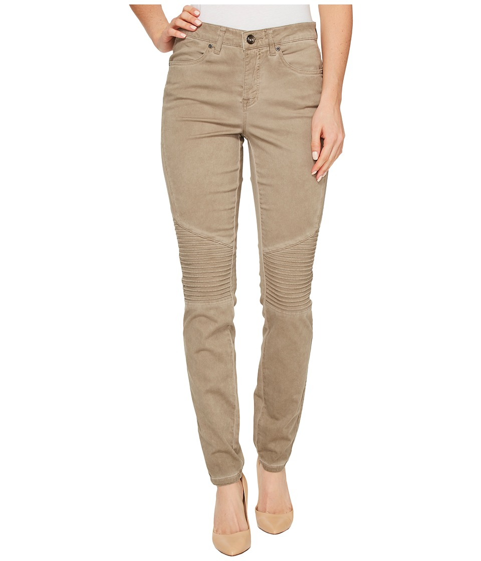 Tribal - Stretch Soft Denim Biker Pants in Clay (Clay) Women's Jeans