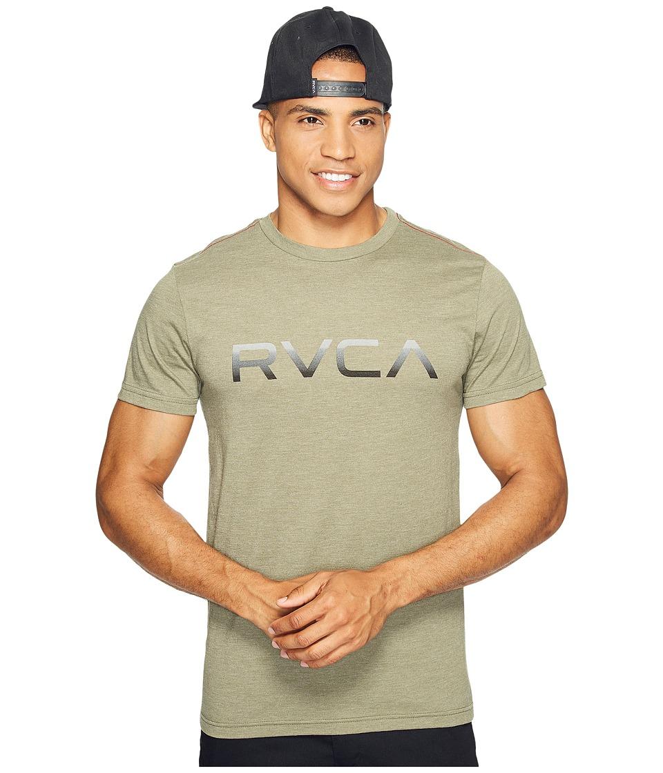 RVCA - Big RVCA Gradient Tee (Fatigue) Men's T Shirt
