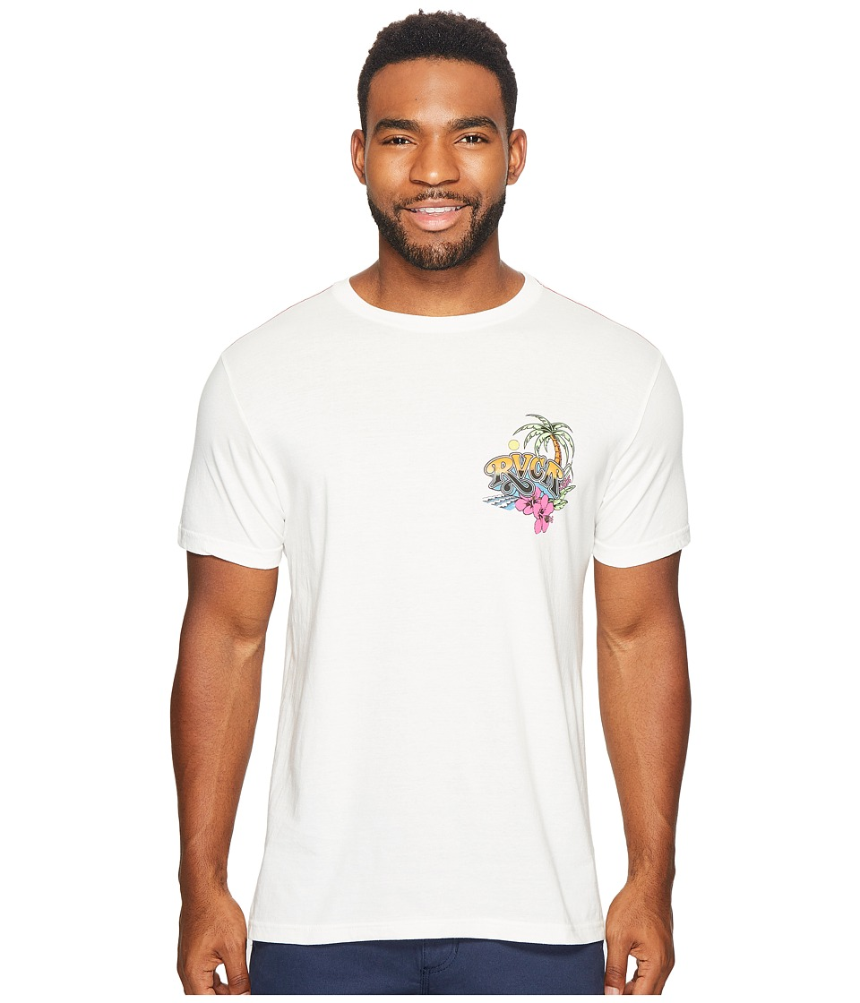RVCA - Royal Palm Tee (Antique White) Men's T Shirt