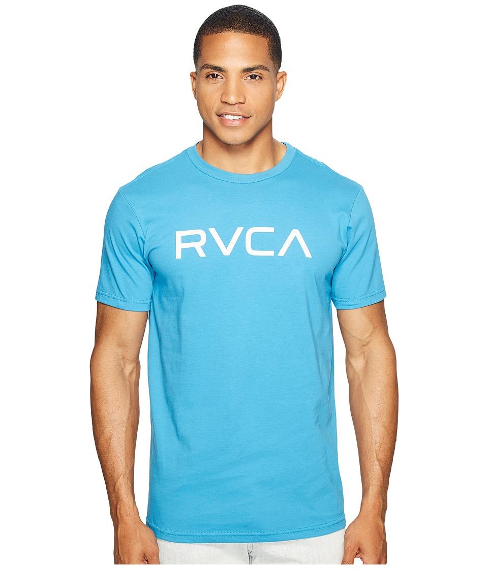 RVCA - Big RVCA Tee (Blue Jay) Men's T Shirt