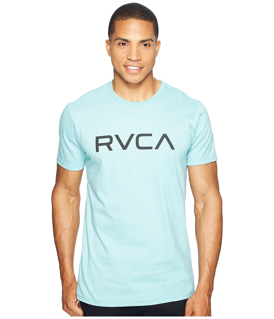 RVCA - Big RVCA Tee (Nile Blue) Men's T Shirt