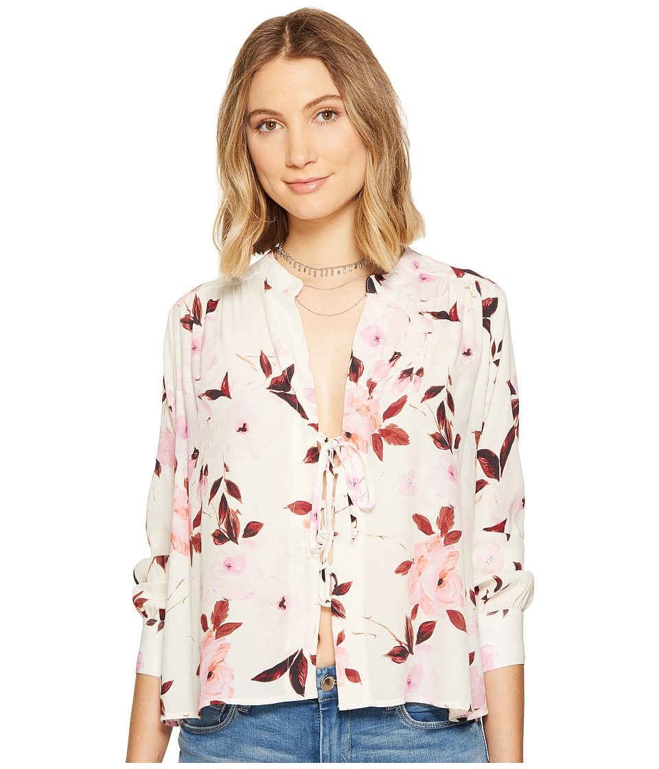 Flynn Skye - Get Away Blouse (Scattered Roses) Women's Blouse
