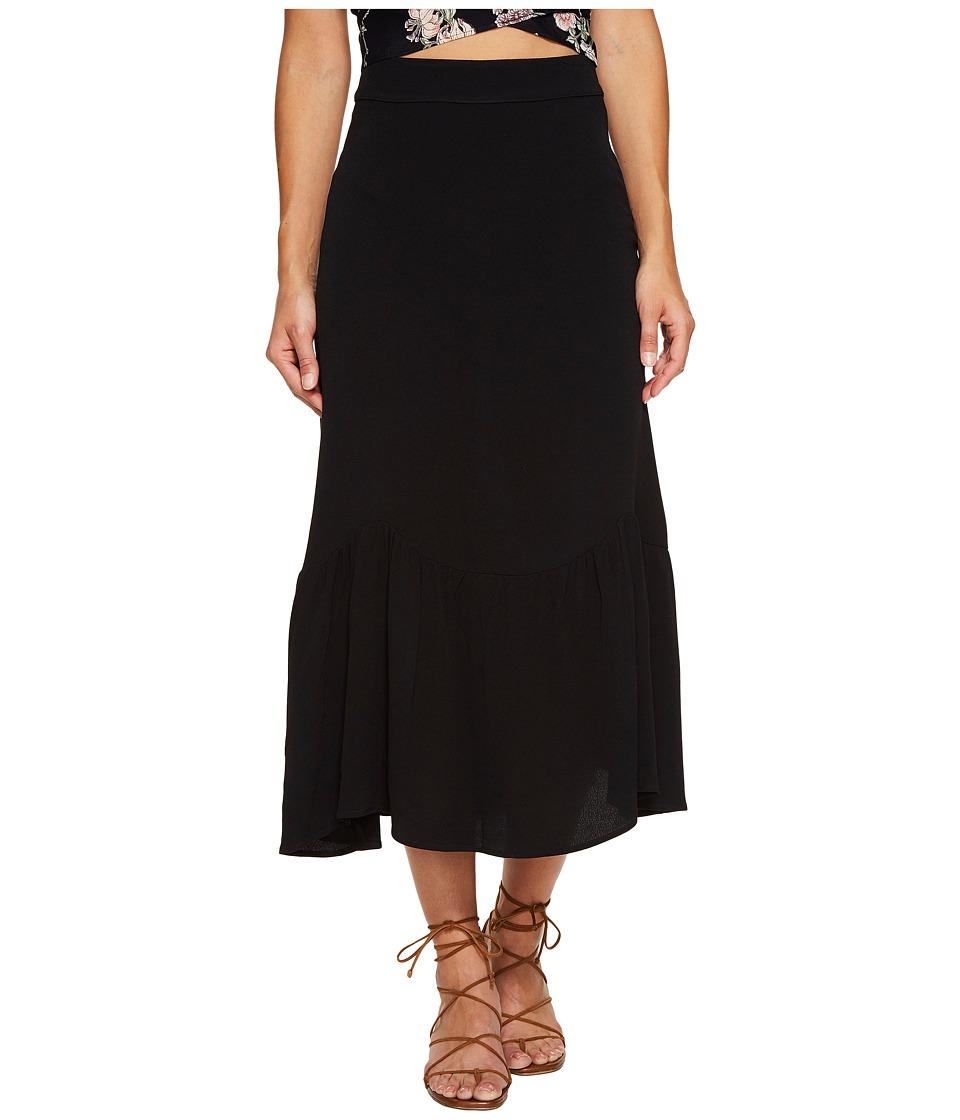 Flynn Skye - Lacey Skirt (Black) Women's Skirt