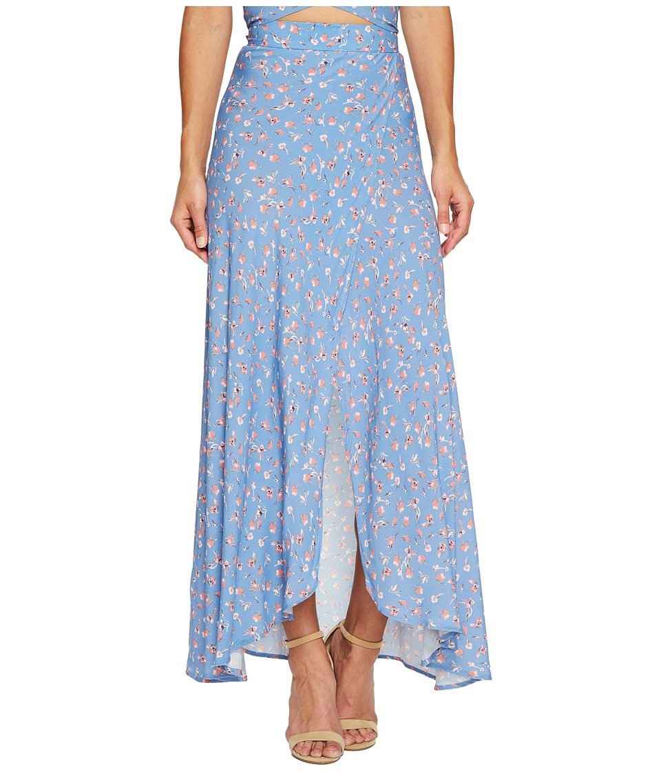 Flynn Skye - Wrap It Up Skirt (Falling Flora) Women's Skirt