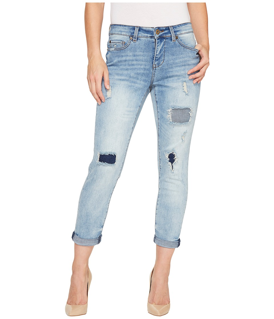 Tribal - Boyfriend Fit 25 Ripped and Repaired 25 Pants in True Blue (True Blue) Women's Jeans