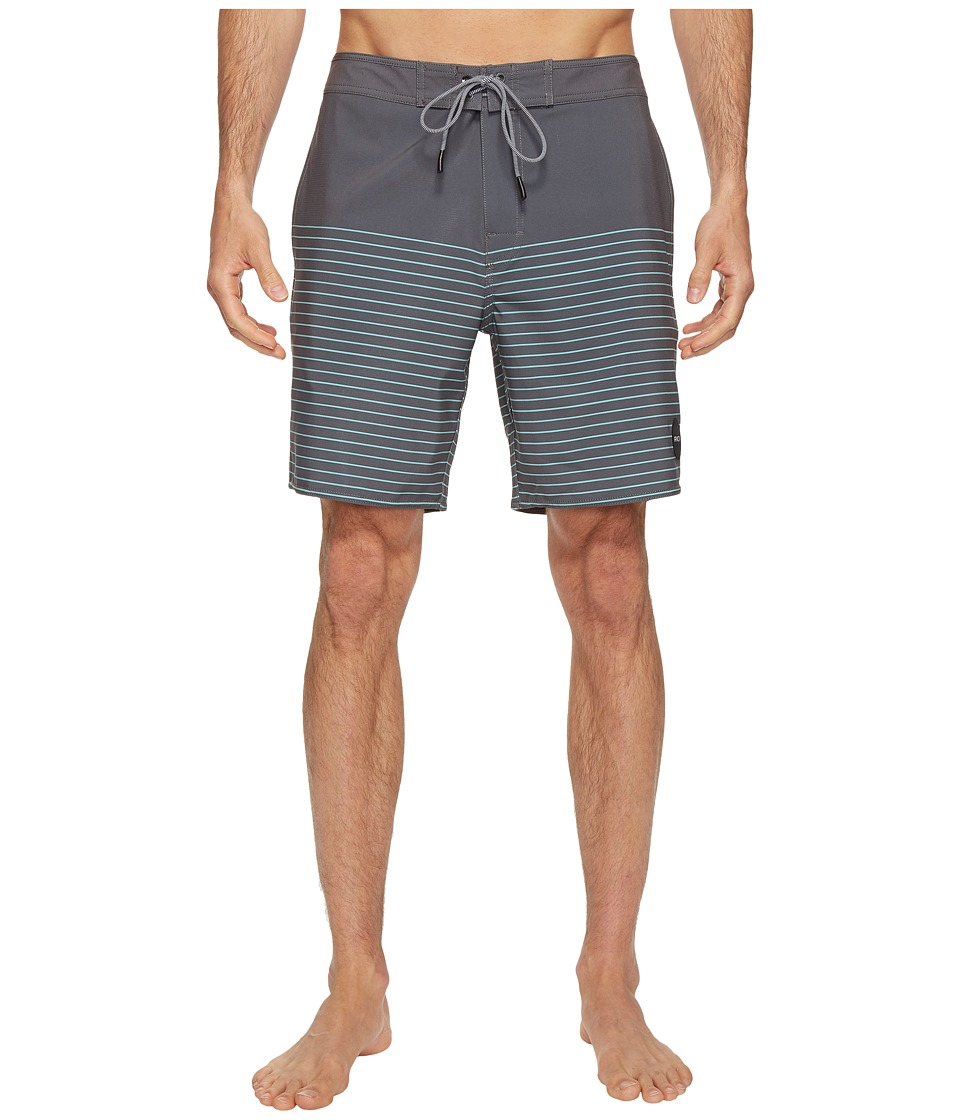 RVCA - Curren Trunk (Greyskull) Men's Swimwear