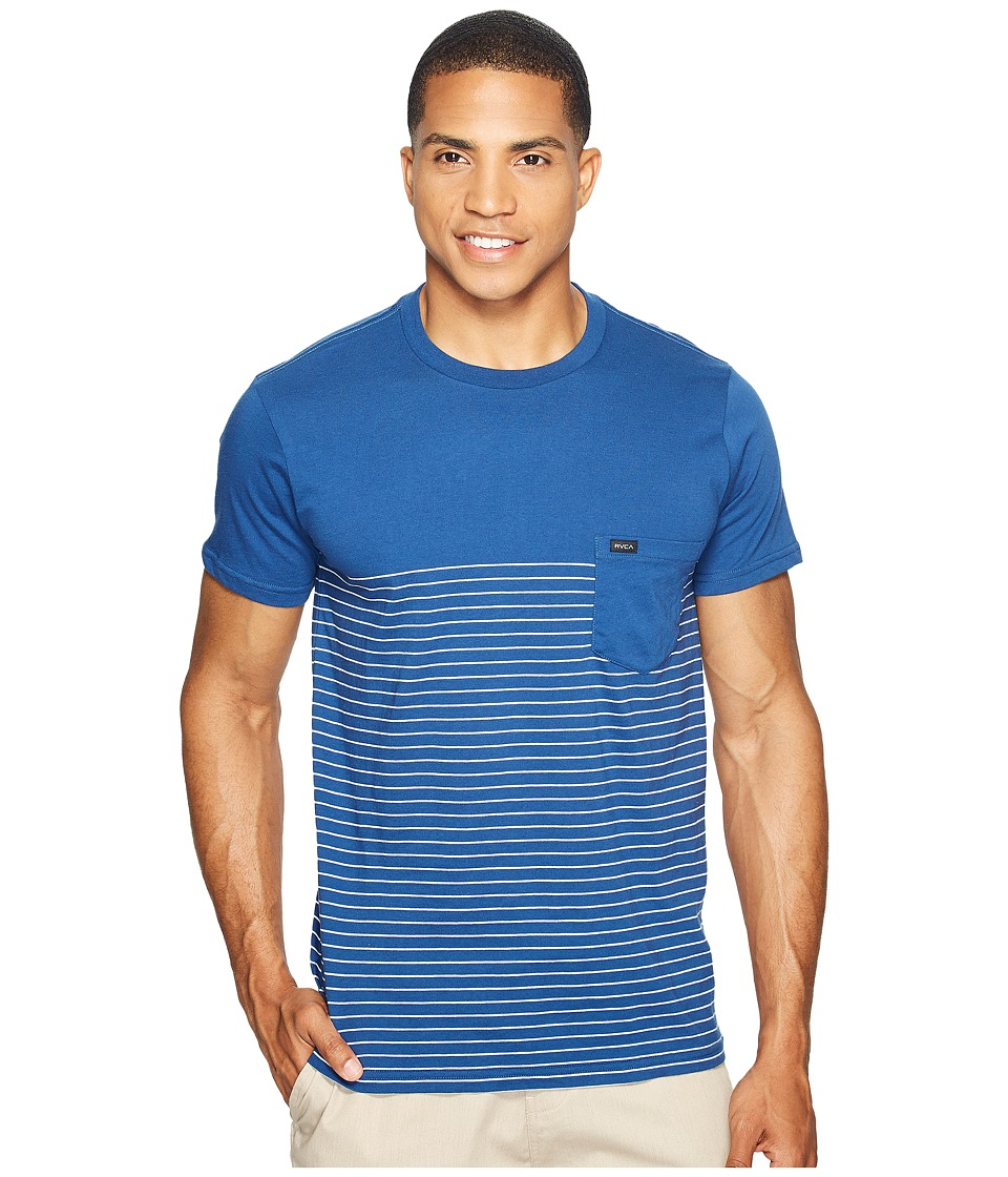 RVCA - Switch Up Knit (Ink Blue) Men's Clothing