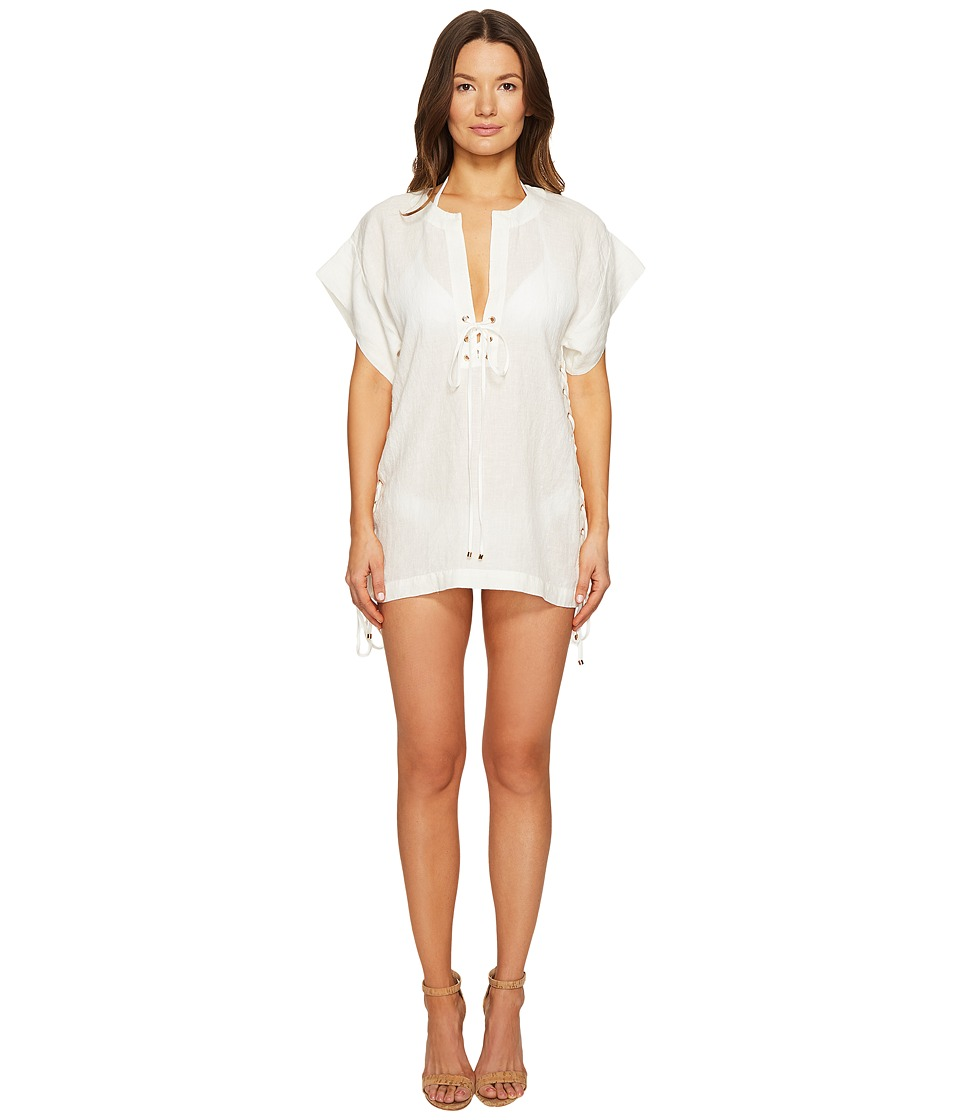 Marysia - Nantucket Dress Cover-Up (Coconut) Women's Dress
