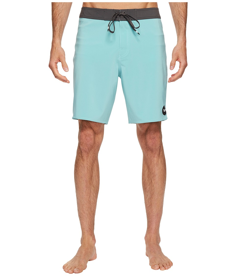 RVCA - VA Trunk (Green Foam) Men's Swimwear