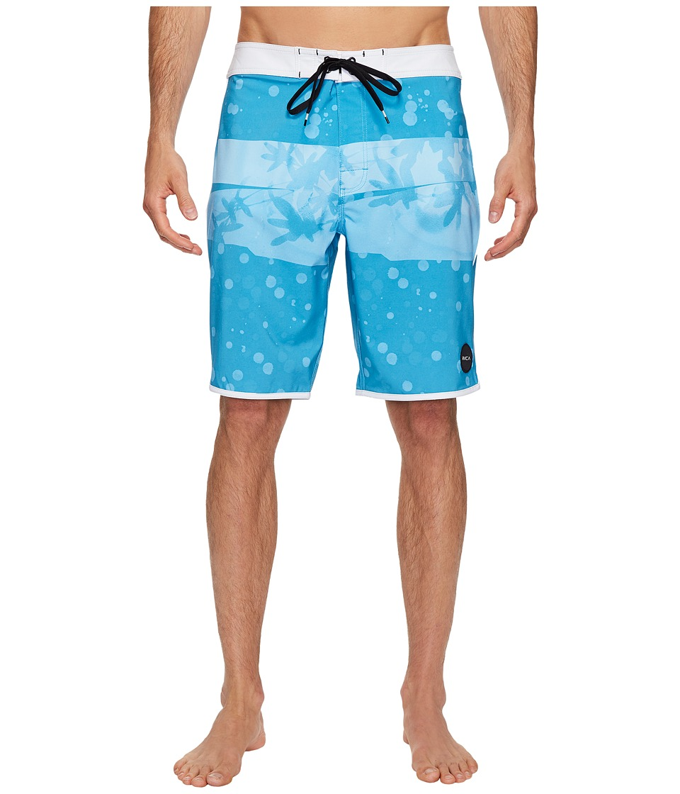 RVCA - Chopped Trunk (Blue Jay) Men's Swimwear