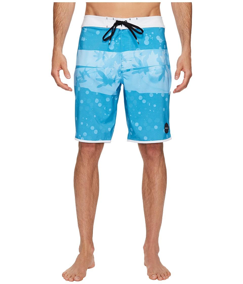 RVCA - Chopped Trunk (Blue Jay) Men's Swimwear
