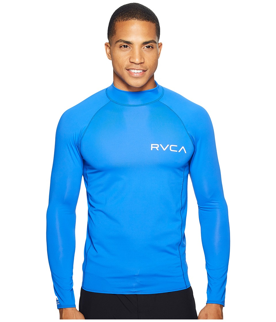 RVCA - Solid Long Sleeve Rashguard (Surf) Men's Swimwear