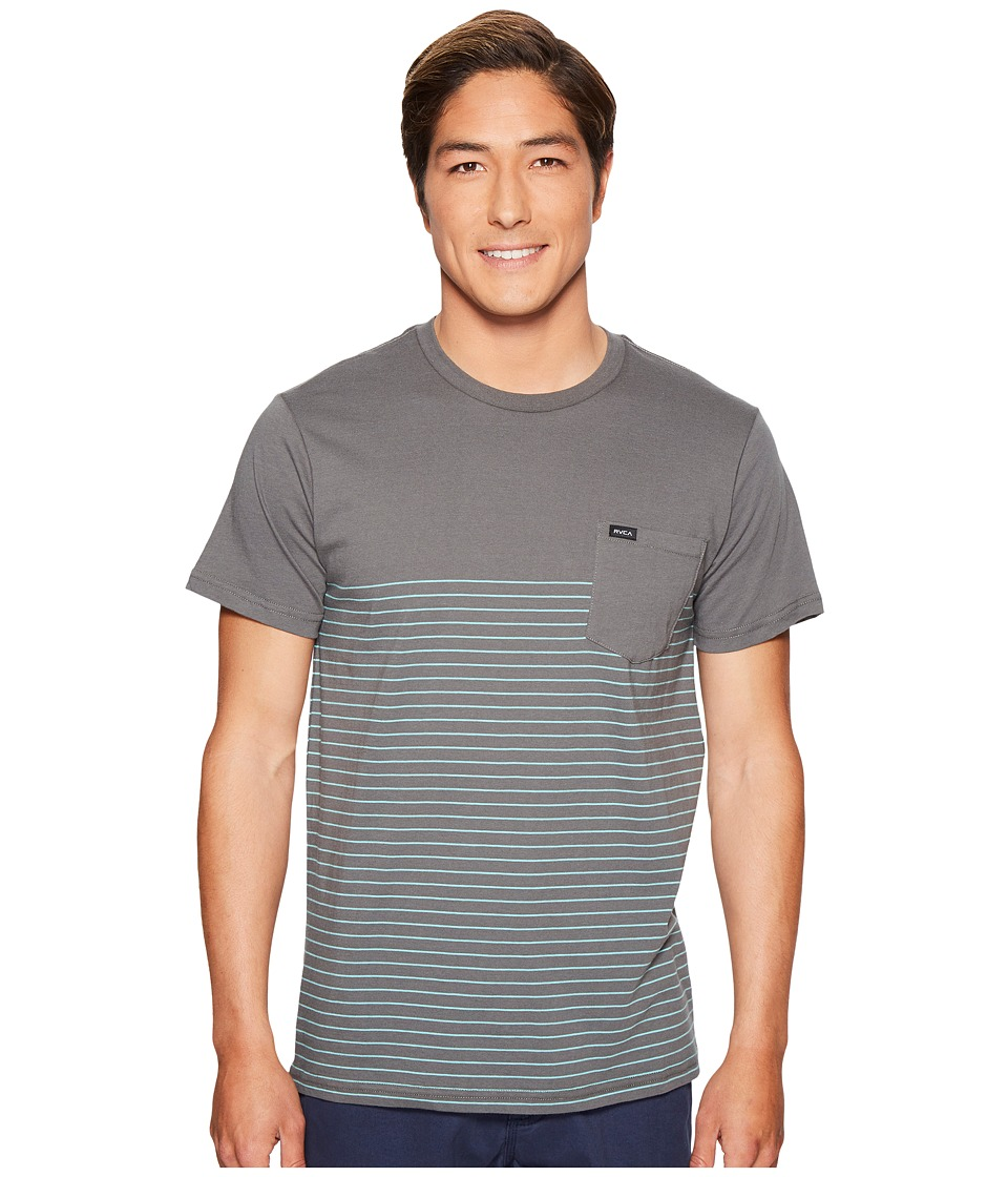 RVCA - Switch Up Knit (Greyskull) Men's Clothing
