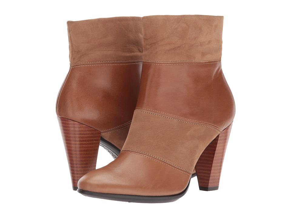 ECCO Shape 75 Modern Boot (Camel/Camel) Women