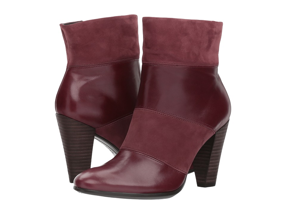 ECCO Shape 75 Modern Boot (Bordeaux/Bordeaux) Women