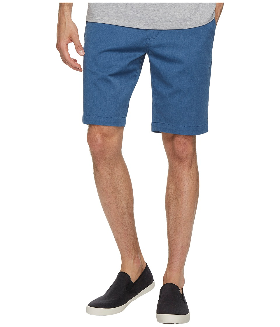 RVCA - The Week-End Stretch Shorts (Lapis Heather) Men's Shorts