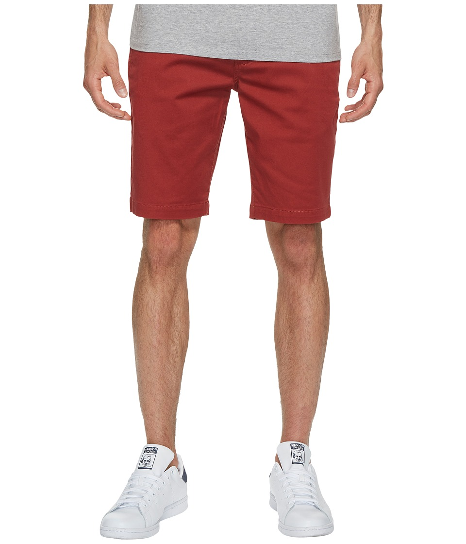 RVCA - The Week-End Stretch Shorts (Rosewood) Men's Shorts
