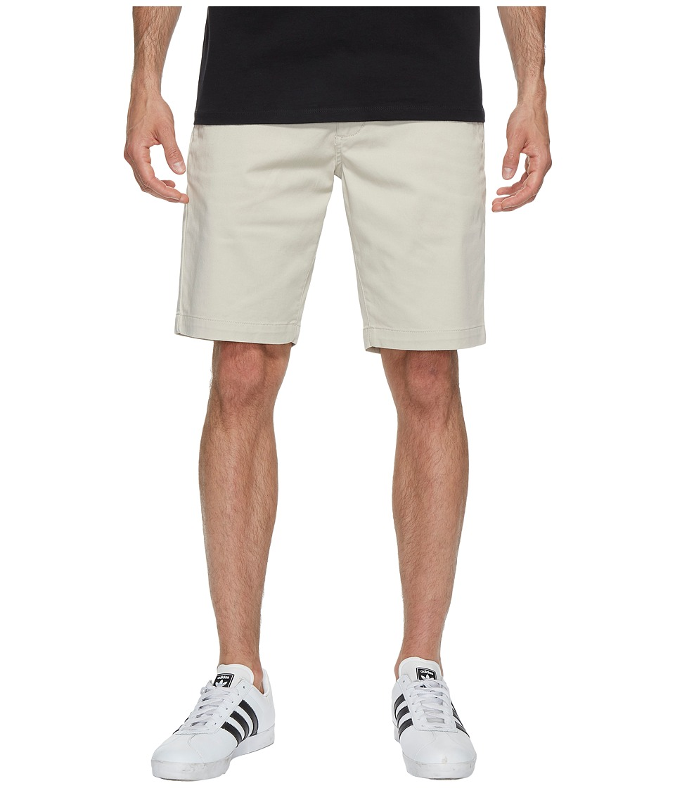 RVCA - The Week-End Stretch Shorts (Silver Grey) Men's Shorts