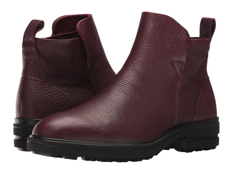 ECCO Zoe Ankle Boot (Bordeaux Cow Leather) Women