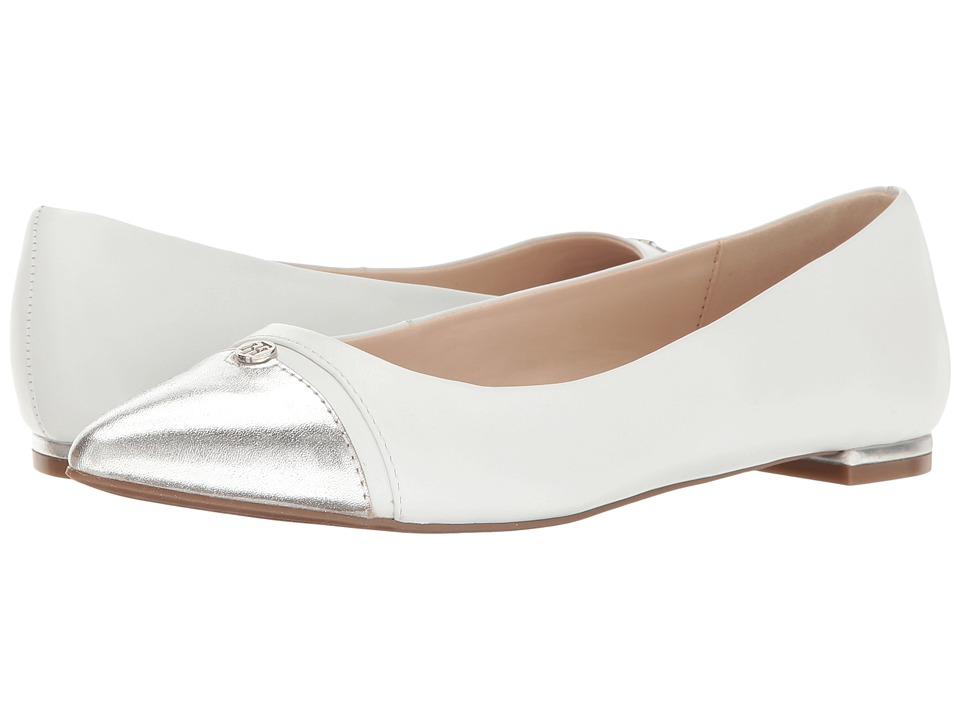 Tommy Hilfiger - Thalia (White/Silver) Women's Flat Shoes