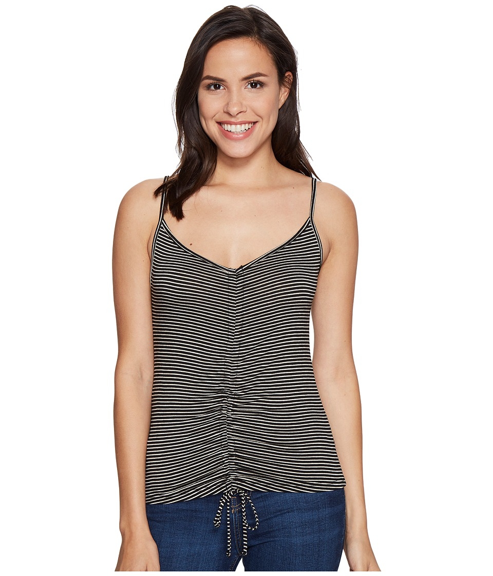 Project Social T - Winona Tank Top (Black/Taupe) Women's Sleeveless