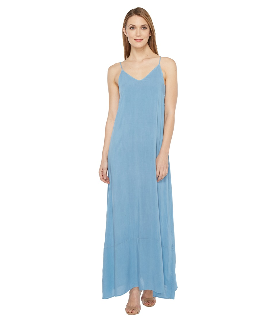 Project Social T - Jo Maxi Dress (P. Blue Shadow) Women's Dress