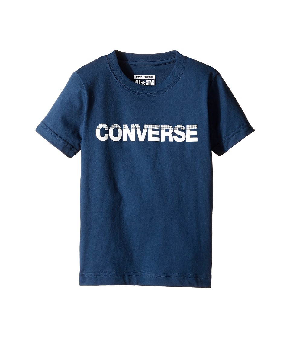 Converse Kids - HD Tee (Toddler/Little Kids) (All Star Navy) Boy's T Shirt