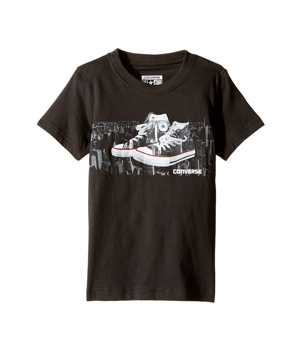 Converse Kids - Run This City Tee (Toddler/Little Kids) (Black) Boy's T Shirt