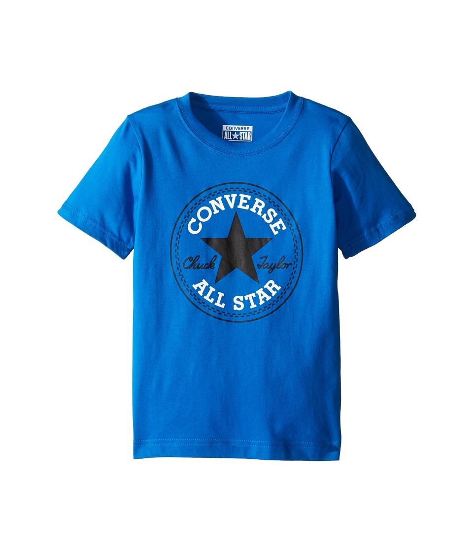 Converse Kids - Chuck Patch Tee (Toddler/Little Kids) (Soar) Boy's T Shirt