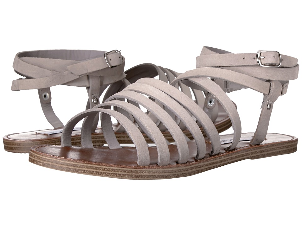 Steve Madden - Galea (Grey Leather) Women's Shoes