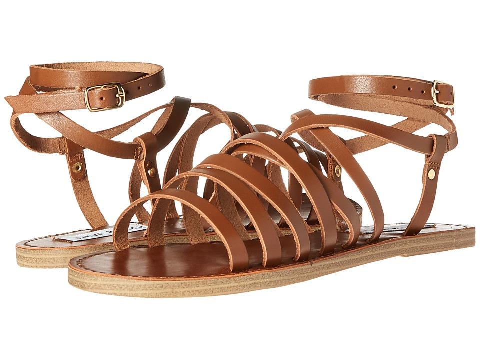 Steve Madden - Galea (Cognac Leather) Women's Shoes