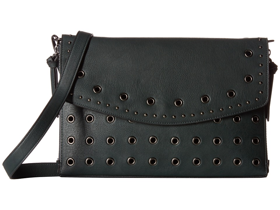 Circus by Sam Edelman - Lux Crossbody w/ Grommets (Green/Grommets/Studs) Cross Body Handbags