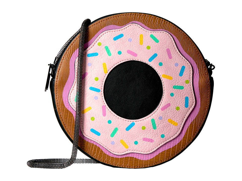 Circus by Sam Edelman - Donut Go There Crossbody (Tan/Black) Cross Body Handbags